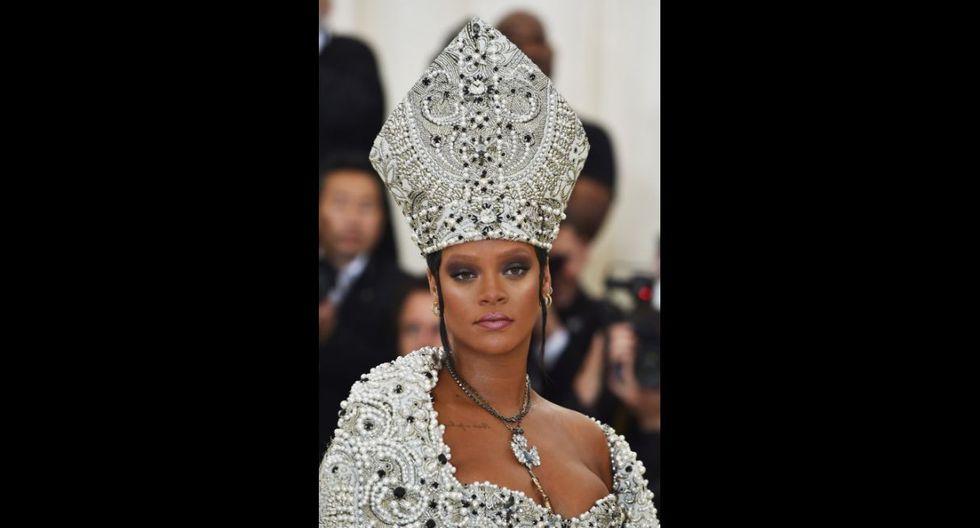 Vestidos MET Gala 2018: Rihanna (Foto: AFP)