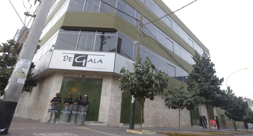 Varios inmuebles fueron intervenidos en La Victoria. (Foto: José Caja/GEC)