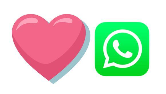 ¿Sabes realmente lo que significa el corazón rosado de WhatsApp y para qué debes usarlo? (Foto: Emojipedia)