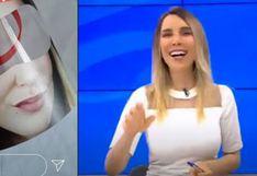 Juliana Oxenford: La divertida reacción de la periodista al enterarse que venden protectores con su rostro