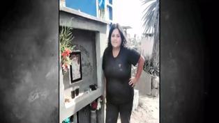 Conductora de combi murió atropellada mientras cambiaba la llanta de su vehículo