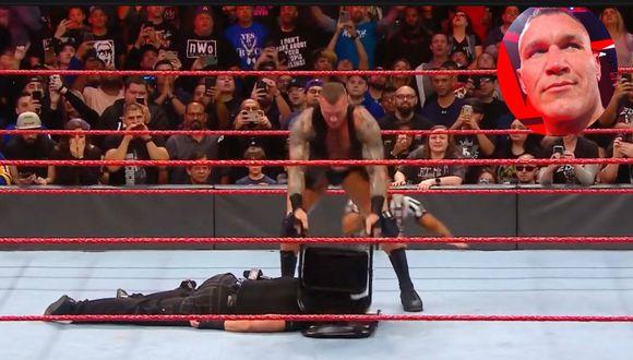 'El depredador máximo' Randy Orton tuvo como víctima a Matt Hardy. (WWE)