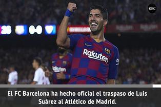España: Luis Suárez reforzará Atlético de Madrid