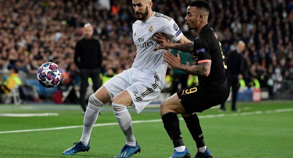 Real Madrid - Manchester City: Goles, resumen y resultado del partido por Champions League
