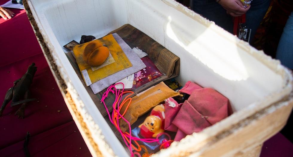 Abren una cápsula del tiempo que se hallaba enterrada desde el año 1993. (Shenandoah University)