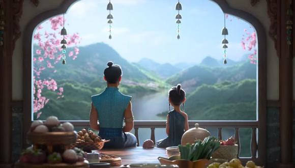 """Disney estrenó el nuevo adelanto de """"Raya y el último dragón"""", cinta que se estrenará el 5 de marzo. (Foto: Captura YouTube)."""