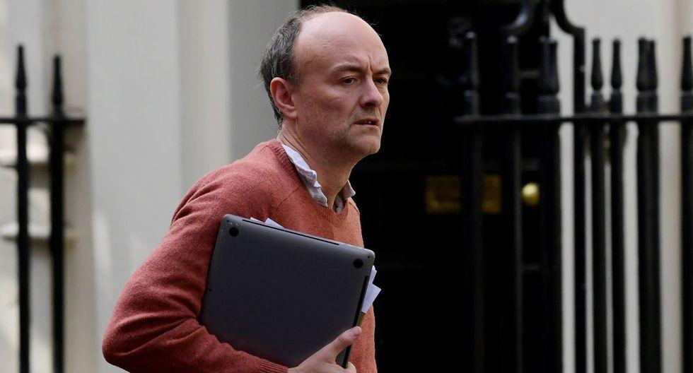 Dominic Cummings, asesor especial del primer ministro británico, Boris Johnson, llega a Downing Street, luego del brote de la enfermedad por coronavirus. (REUTERS/Toby Melville).