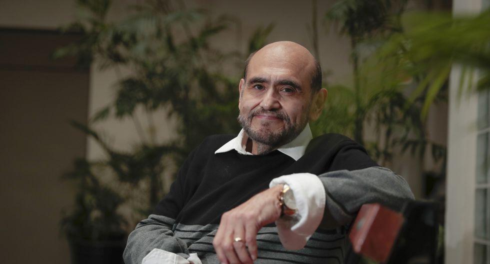 """Edgar Vivar emocionado por su unipersonal: """"Quiero tocar el corazón de los peruanos"""" (Foto: Hugo Pérez/GEC)"""