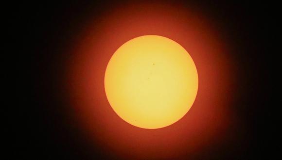 Eclipse solar en Estados Unidos. Foto: Agencias