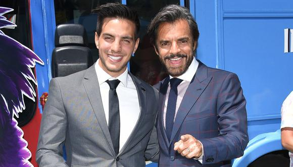 Vadhir Derbez, hijo del cómico mexicano Eugenio Derbez, en Hollywood. (Foto: AFP)