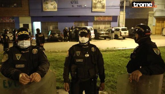 La policía confirmó la detención de 23 personas. (Foto: Joel Alonzo/GEC)