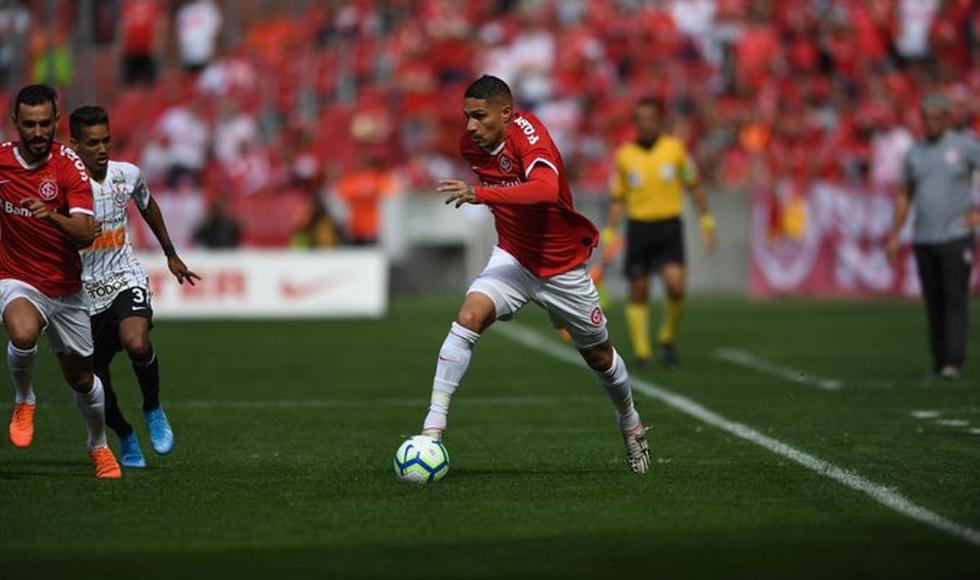 Internacional vs Corinthians: Con Paolo Guerrero, juegan por el Brasileirao