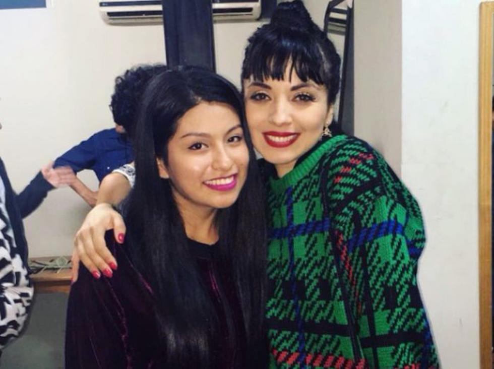 Mon Laferte y Wendy Sulca. Foto: Instagram