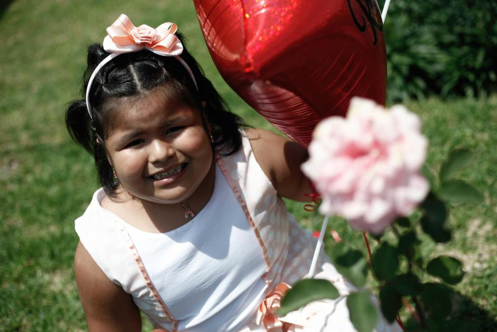 Romina, la niña que venció al cáncer. Foto: Joel Alonzo Huamaní (GEC)