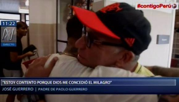 Papá de Paolo Guerrero