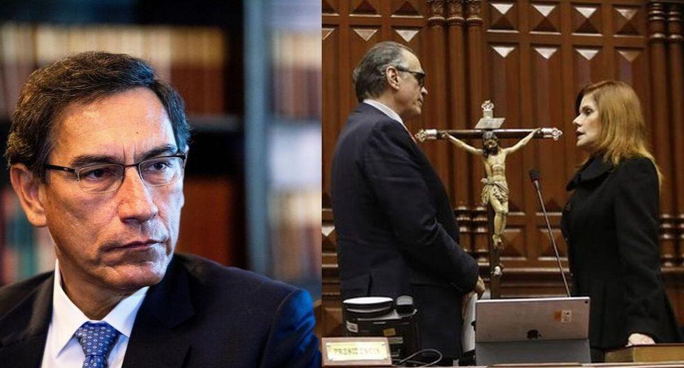 Martín Vizcarra sobre la juramentación de Meche Aráoz