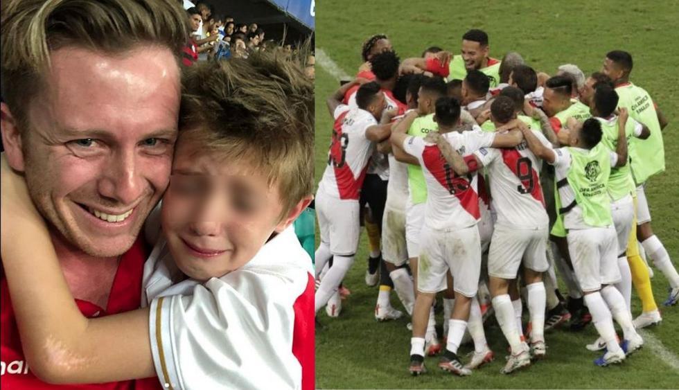 Nieto de Ricardo Gareca celebró triunfo del Perú ante Uruguay por la Copa América 2019 (Fuente: Instagram | Autor: Milton Gareca)