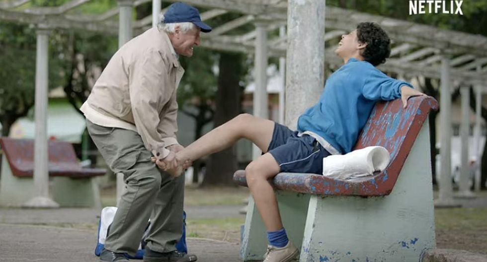 """Así será la serie """"Apache, la vida Carlos Tevez"""", según el director. (Foto: Captura)"""