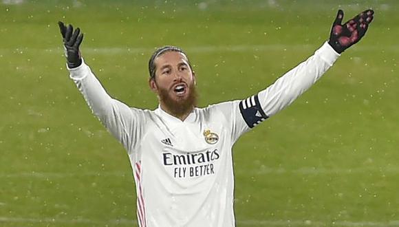 Sergio Ramos dio positivo por coronavirus, anunció Real Madrid. (Foto: AFP)