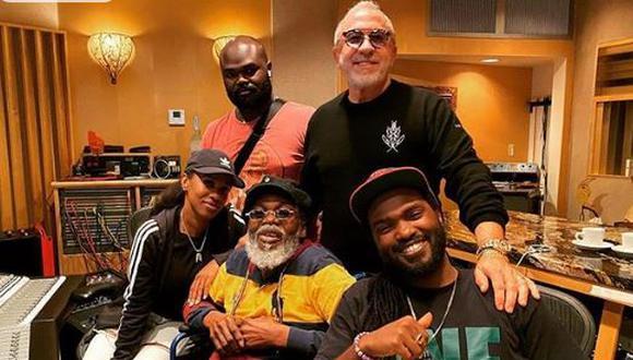 La icónica banda The Wailers grabó su primer disco inédito desde 1994. (Foto: Instagram)
