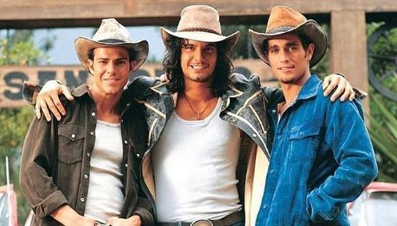 """¿Los hermanos Reyes. Óscar, Juan y Franco, serán parte de la nueva temporada de """"Pasión de gavilanes"""" (Foto: Pasión de gavilanes / Telemundo)"""