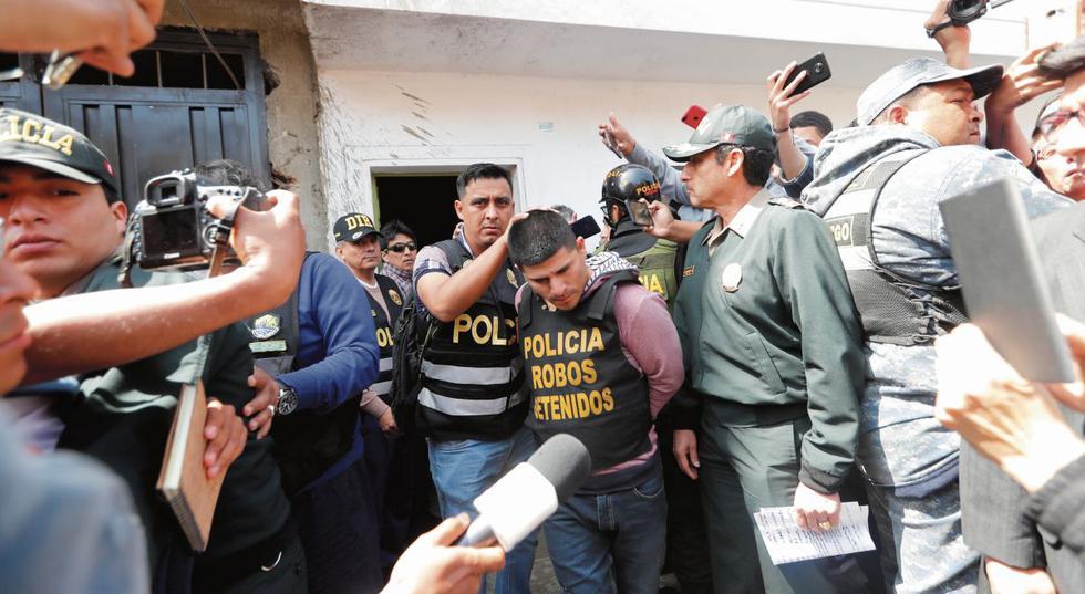 Policía capturó a delincuentes que asaltaron a 55 personas e hotel de San Miguel.