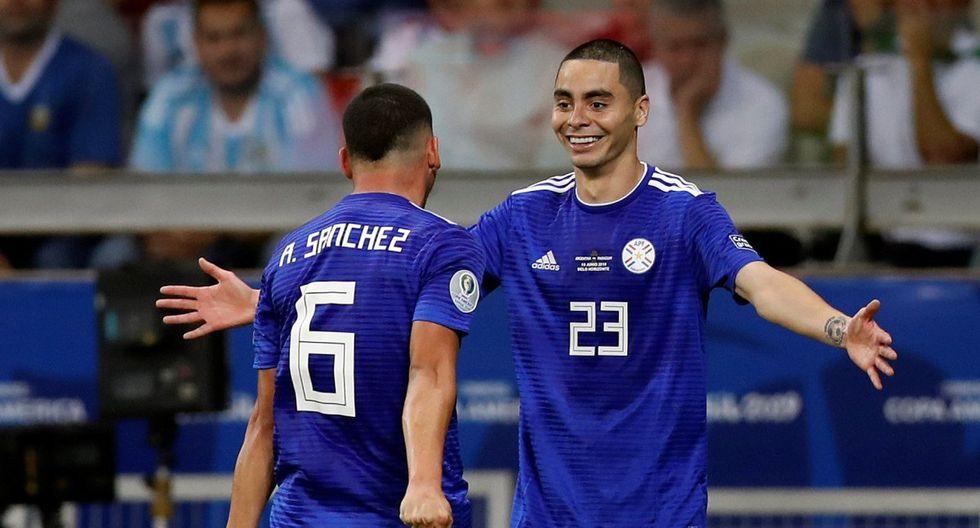 Golazo de Paraguay ante Argentina: Sánchez remató de fuera del área por la Copa América 2019