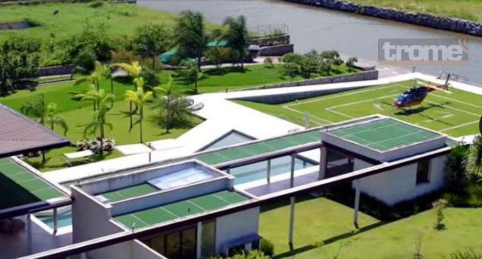 Neymar vive cuarentena en su nueva mansión