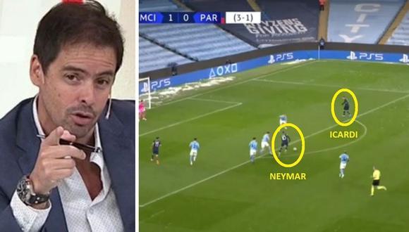 Mariano Closs, de ESPN, dijo esto sobre 'egoísmo' de Neymar con Icardi.