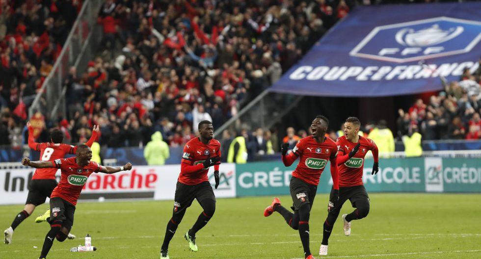 ¡BATACAZO! PSG perdió final 6-5 en penales y Rennes se coronó campeón de la Copa de Francia