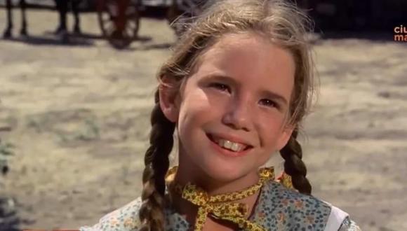 Melissa Gilbert interpretó a Laura Ingalls, la hija de Charles Ingalls en el exitoso programa.  (Foto: La familia Ingalls / NBC)