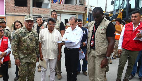 Walter Martos dijo que los agentes de las Fuerzas Armadas están siempre en contacto con las familias afectadas. (Foto: GEC)
