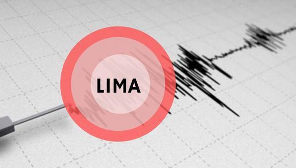 Temblor en Lima se sintió esta mañana