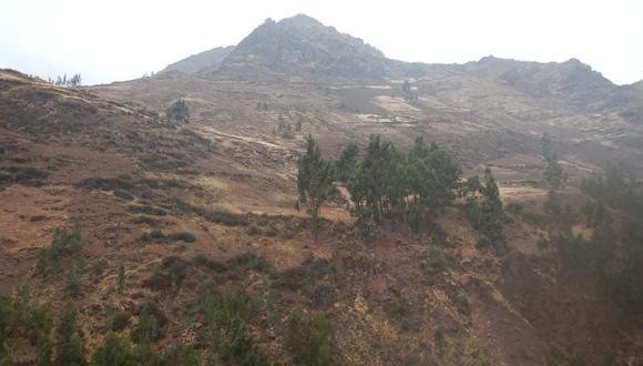 Cusco: Ingemmet asegura que huaicos y deslizamientos ponen en peligro al sector de Cuyo Grande (Foto: Ingemmet)