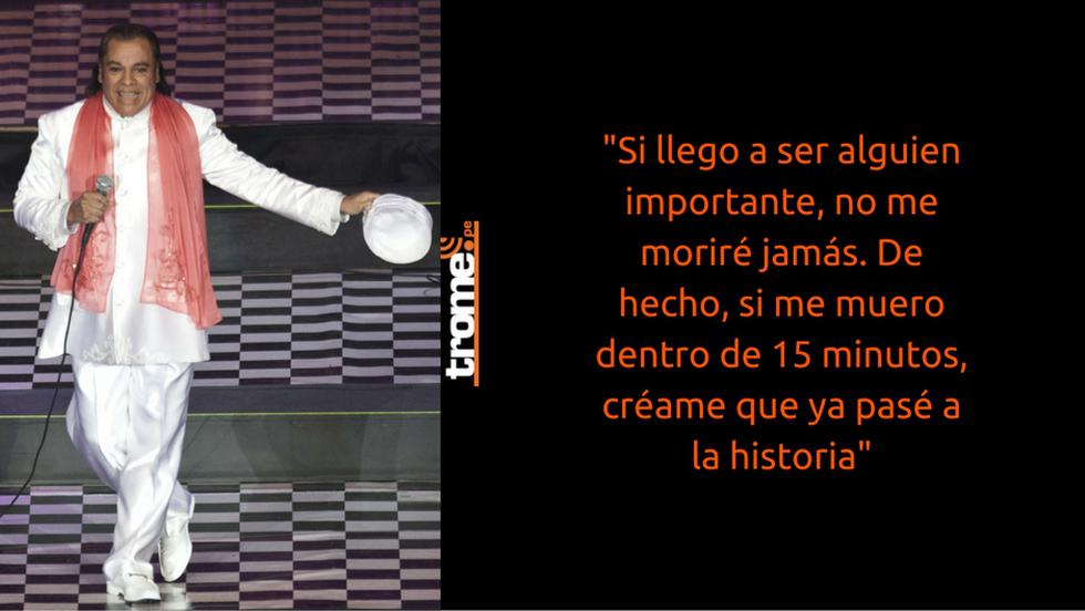 Juan Gabriel es una muestra de muchas cosas: del triunfo del que persevera, del que defiende su derecho a vivir como le da la gana, del que ama lo que hace, etc