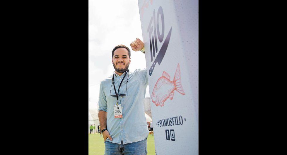 Hernán Benza del Águila creó el exitoso festival gastronómico Filo. Foto: Trome