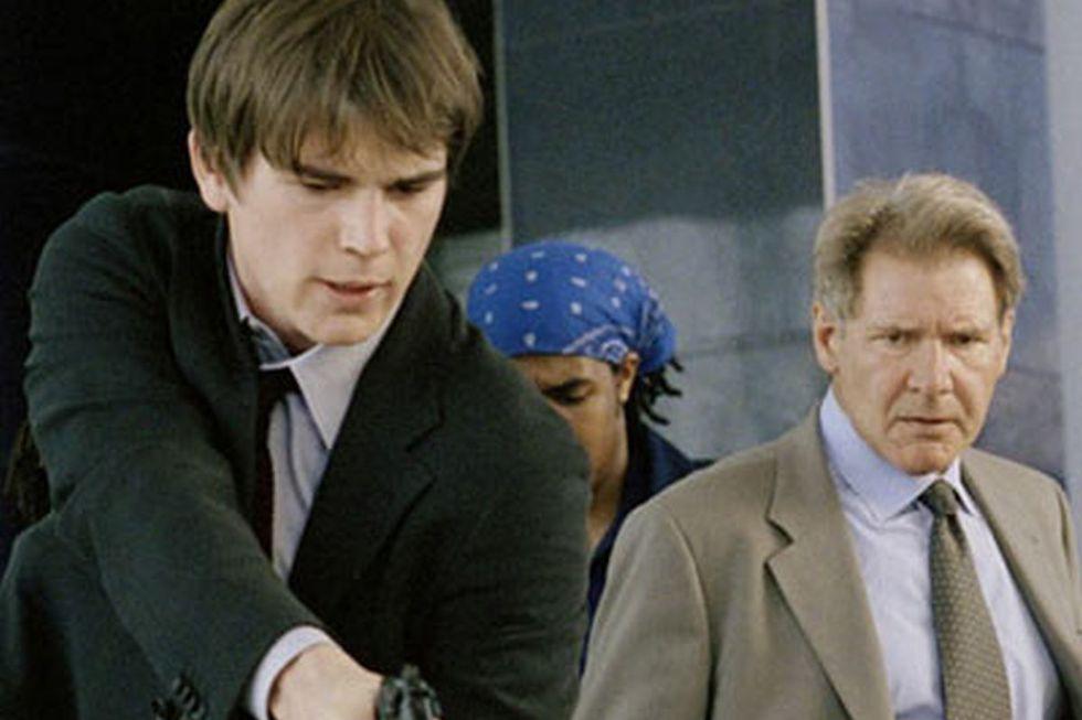"""Josh Hartnett y Harrison Ford en """"Hollywood: Departamento de homicidios"""" (Foto: Columbia Pictures)"""