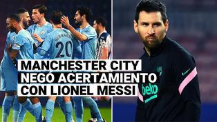 Manchester City desmintió conversaciones o acercamientos con Lionel Messi