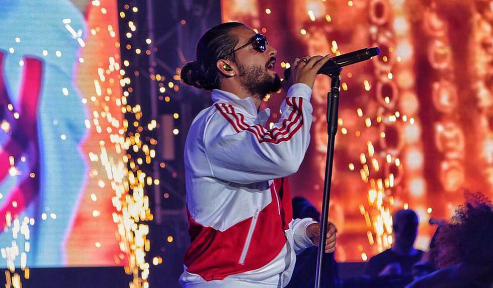 Maluma fue duramente criticado por usar playback durante concierto en Perú