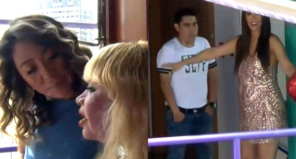 Cathy Sáenz dice que pelea entre Susy Díaz y Walter Obregón fue por celos | TROME