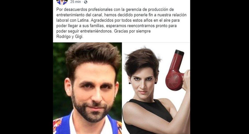 Gigi Mitre y 'Peluchín' no van más en 'Válgame Dios'.
