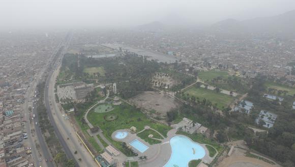 Vista panorámica del parque zonal Sinchi Roca, ubicado en Comas, que será escenario del primer evento cultural al aire libre en medio de la pandemia por el COVID-19. (Foto: Archivo/GEC)