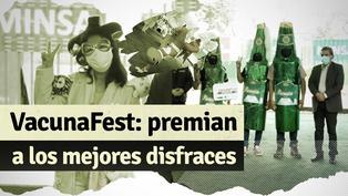 VacunaFest: Ministro de Salud premió a los ganadores del concurso de disfraces