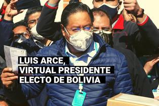 Elecciones en Bolivia: Luis Arce se consagra ganador en primera vuelta, según sondeo a boca de urna