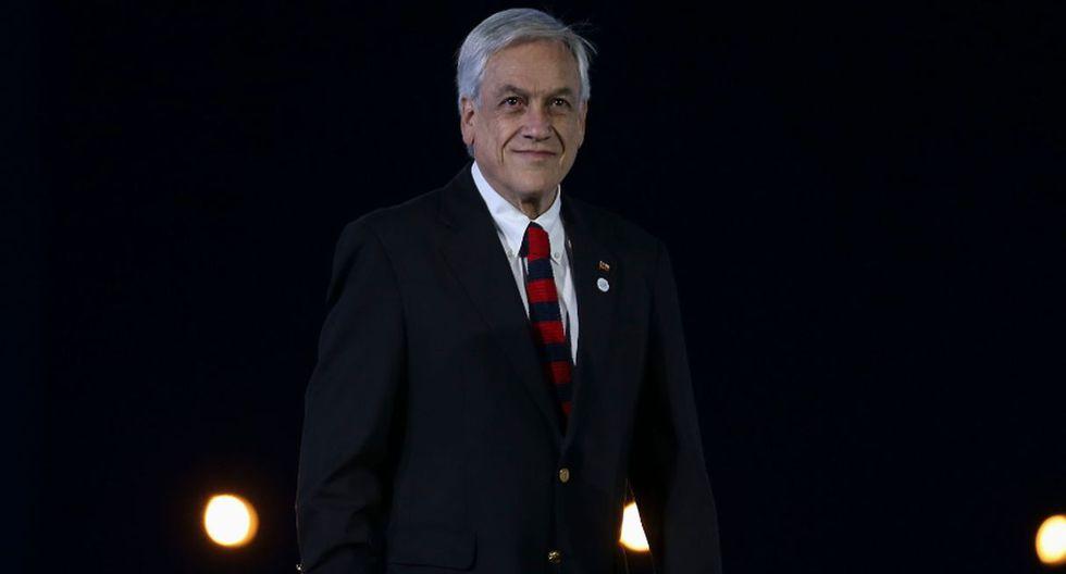 Sebastián Piñera, presidente de Chile. (Foto: Agencias)