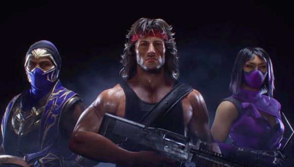 Rambo es el nuevo personaje de Mortal Kombat 11. (Redes sociales)
