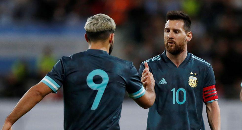 Gol de Sergio Agüero en Argentina vs Uruguay por fecha FIFA