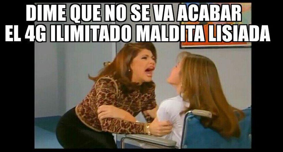 Memes de #NoTeVayas4GIlimitado