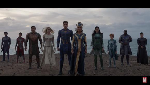 """Marvel estrenó el primer teaser oficial de """"Eternals"""", la película de Chloé Zhao. (Foto: Captura de video)"""