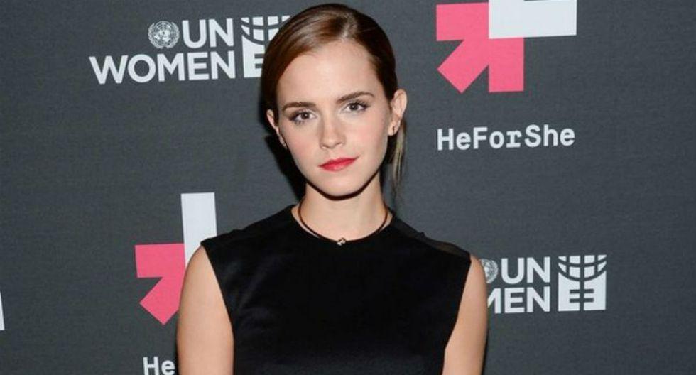 Emma Watson en defensa de los derechos de las mujeres.